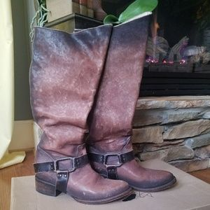 Freebird Philly boots size 8 harness boots